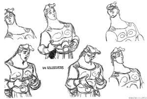 dibujos animados de hercules