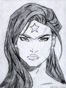 dibujos animados de la mujer maravilla