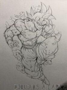 dibujos de dragon ball z kai