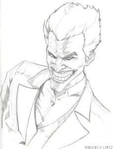 dibujos de el joker