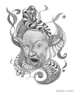 dibujos de gorgonas