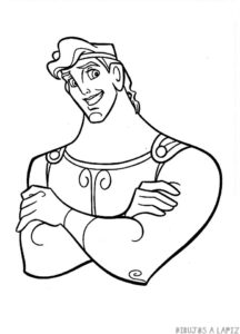 dibujos de hercules mitologia griega