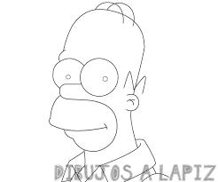 dibujos de homer simpson