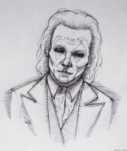 dibujos de joker para colorear