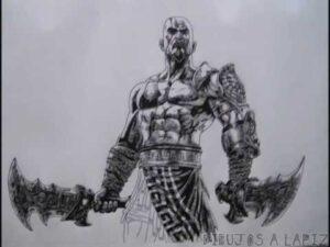 dibujos de las espadas de kratos