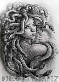 dibujos de medusa