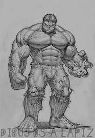 dibujos de spiderman y hulk