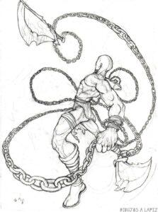 dibujos en kratos 1