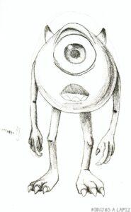 dibujos para colorear de mike wazowski