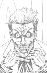 el joker para dibujar
