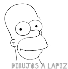 homer simpson dibujo