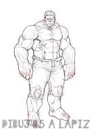 hulkbuster dibujo