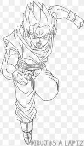imagenes de goku para dibujar