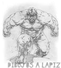 imagenes de hulk para colorear