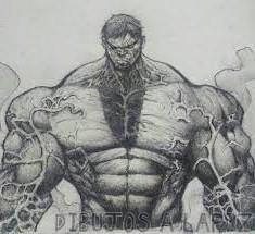 imagenes de hulk para pintar