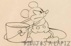 imagenes de mickey mouse para dibujar