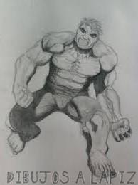 increible hulk para colorear