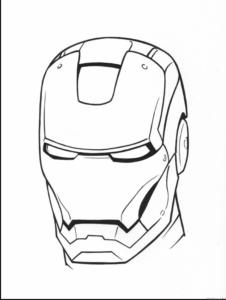 iron man a lapiz