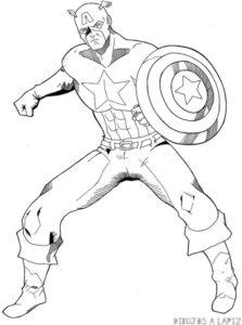 iron man para dibujar