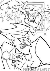 joker batman dibujo
