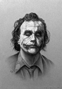 payasos joker para dibujar